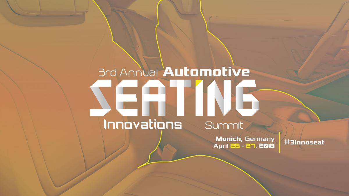 3rd Annual Automotive Seating Innovations Summit | Munich, Germany | Saint-Gobain