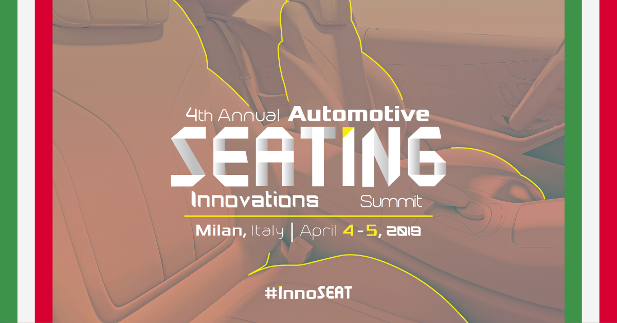 4th Annual Automotive Seating Innovations Summit | Saint-Gobain