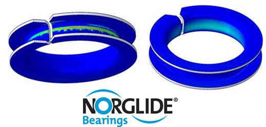 NORGLIDE Bearings for Seat Frames | Saint-Gobain