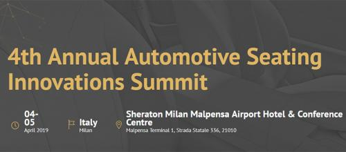 4th Annual Automotive Seating Innovations Summit