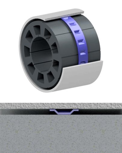 Thin Wall Tolerance Ring | Saint-Gobain